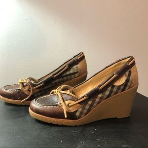Sperry Topsider Wedges size 7.5